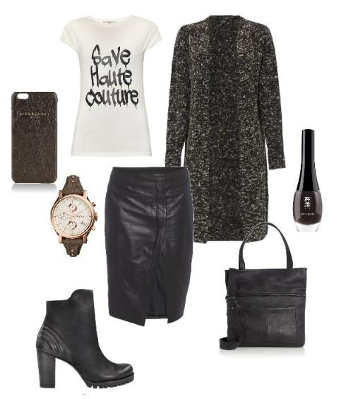 styleboard leather army green