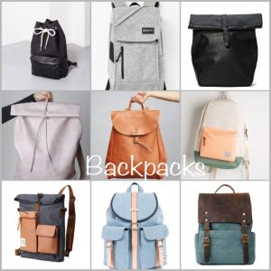 backpacks header